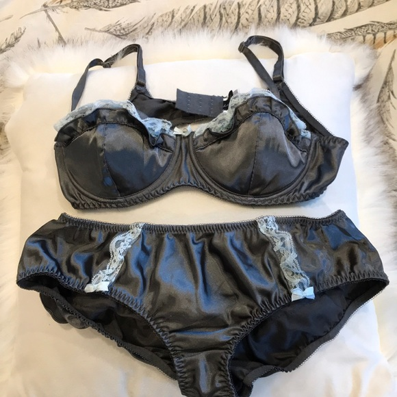2151f6db0134e damsel Intimates & Sleepwear | By Urban Outfitters Bra And Bloomer ...